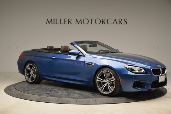 Used 2013 BMW M6 Convertible for sale Sold at Rolls-Royce Motor Cars Greenwich in Greenwich CT 06830 10