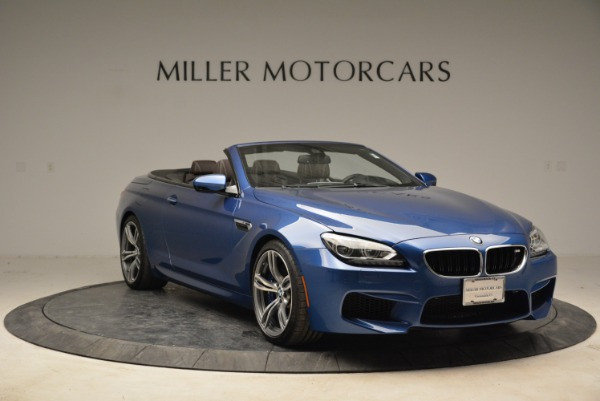 Used 2013 BMW M6 Convertible for sale Sold at Rolls-Royce Motor Cars Greenwich in Greenwich CT 06830 11