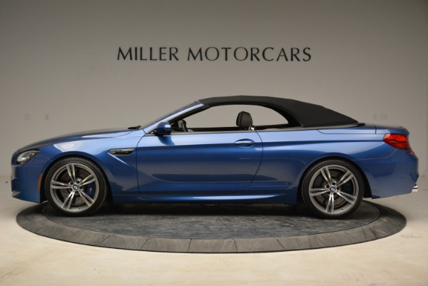 Used 2013 BMW M6 Convertible for sale Sold at Rolls-Royce Motor Cars Greenwich in Greenwich CT 06830 15