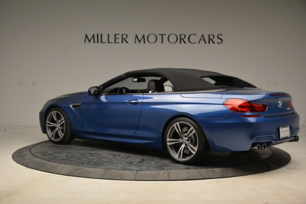 Used 2013 BMW M6 Convertible for sale Sold at Rolls-Royce Motor Cars Greenwich in Greenwich CT 06830 16