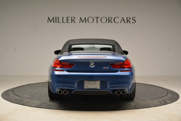 Used 2013 BMW M6 Convertible for sale Sold at Rolls-Royce Motor Cars Greenwich in Greenwich CT 06830 18
