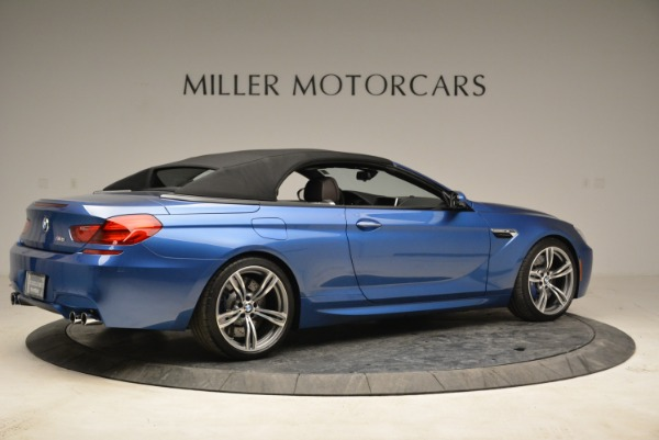 Used 2013 BMW M6 Convertible for sale Sold at Rolls-Royce Motor Cars Greenwich in Greenwich CT 06830 20
