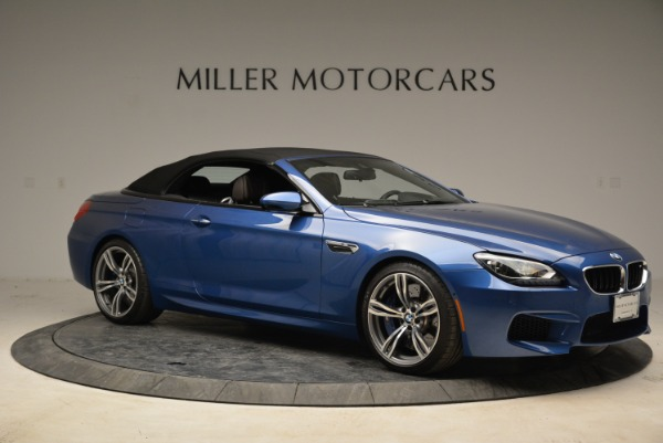 Used 2013 BMW M6 Convertible for sale Sold at Rolls-Royce Motor Cars Greenwich in Greenwich CT 06830 22