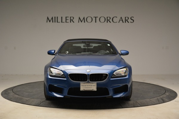 Used 2013 BMW M6 Convertible for sale Sold at Rolls-Royce Motor Cars Greenwich in Greenwich CT 06830 24