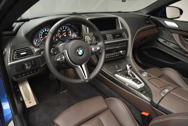 Used 2013 BMW M6 Convertible for sale Sold at Rolls-Royce Motor Cars Greenwich in Greenwich CT 06830 25