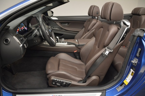 Used 2013 BMW M6 Convertible for sale Sold at Rolls-Royce Motor Cars Greenwich in Greenwich CT 06830 26