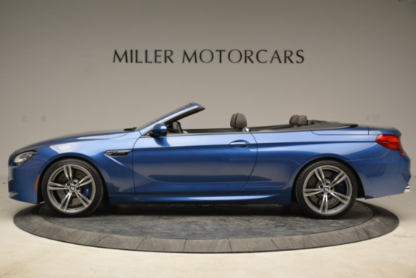 Used 2013 BMW M6 Convertible for sale Sold at Rolls-Royce Motor Cars Greenwich in Greenwich CT 06830 3