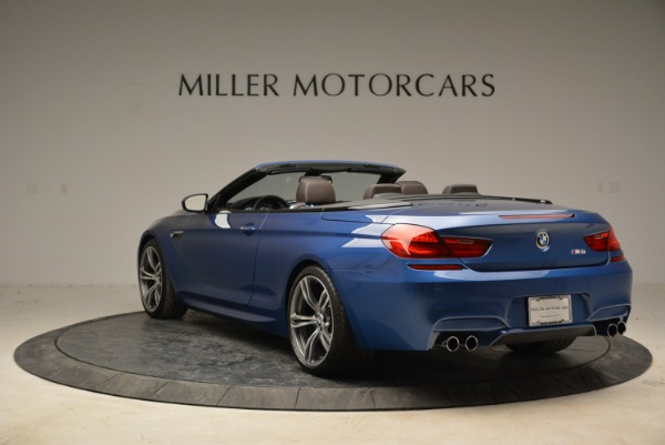 Used 2013 BMW M6 Convertible for sale Sold at Rolls-Royce Motor Cars Greenwich in Greenwich CT 06830 5