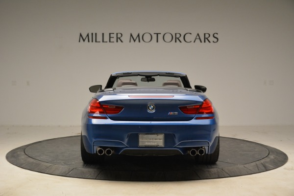 Used 2013 BMW M6 Convertible for sale Sold at Rolls-Royce Motor Cars Greenwich in Greenwich CT 06830 6