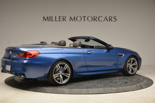 Used 2013 BMW M6 Convertible for sale Sold at Rolls-Royce Motor Cars Greenwich in Greenwich CT 06830 8