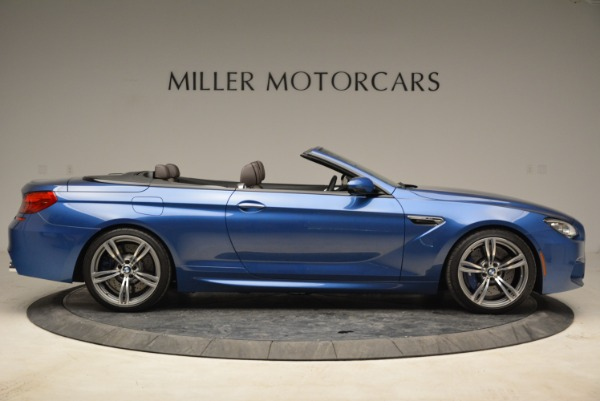 Used 2013 BMW M6 Convertible for sale Sold at Rolls-Royce Motor Cars Greenwich in Greenwich CT 06830 9