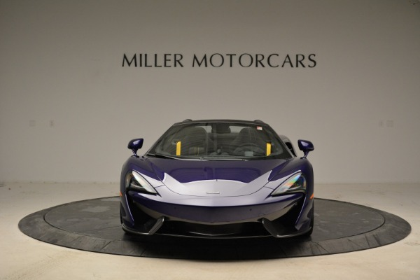 New 2018 McLaren 570S Spider for sale Sold at Rolls-Royce Motor Cars Greenwich in Greenwich CT 06830 11