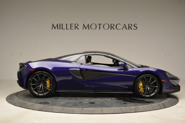 New 2018 McLaren 570S Spider for sale Sold at Rolls-Royce Motor Cars Greenwich in Greenwich CT 06830 19