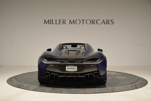 New 2018 McLaren 570S Spider for sale Sold at Rolls-Royce Motor Cars Greenwich in Greenwich CT 06830 5