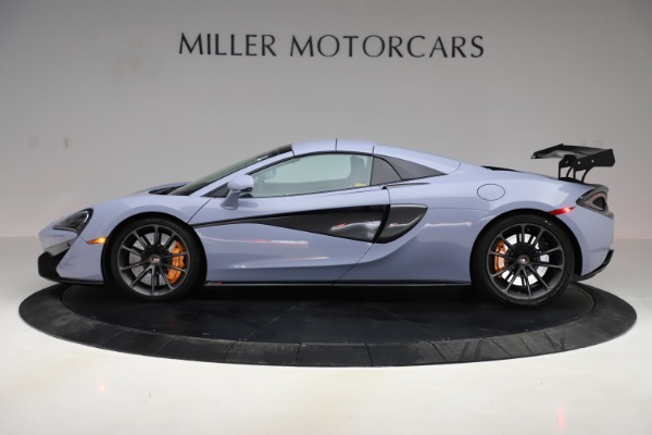 Used 2018 McLaren 570S Spider for sale $167,900 at Rolls-Royce Motor Cars Greenwich in Greenwich CT 06830 11