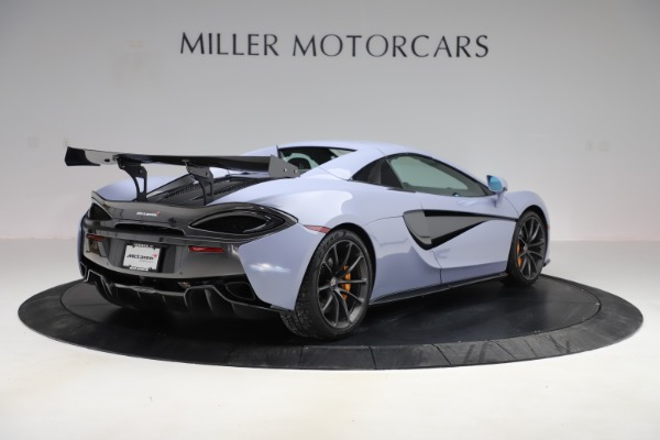 Used 2018 McLaren 570S Spider for sale $167,900 at Rolls-Royce Motor Cars Greenwich in Greenwich CT 06830 14