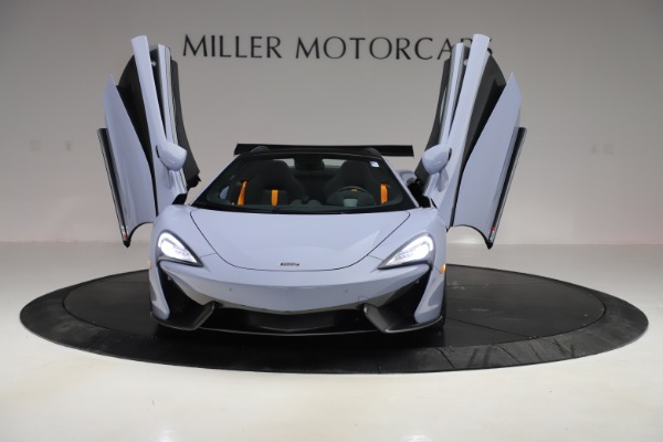 Used 2018 McLaren 570S Spider for sale $167,900 at Rolls-Royce Motor Cars Greenwich in Greenwich CT 06830 17