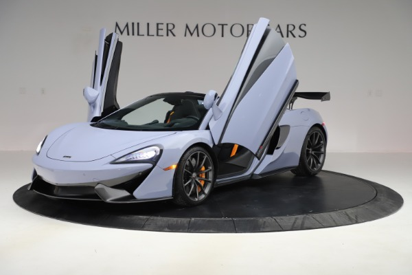 Used 2018 McLaren 570S Spider for sale $167,900 at Rolls-Royce Motor Cars Greenwich in Greenwich CT 06830 18