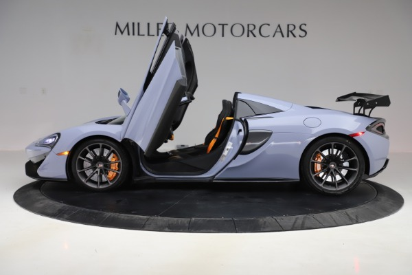 Used 2018 McLaren 570S Spider for sale $167,900 at Rolls-Royce Motor Cars Greenwich in Greenwich CT 06830 19