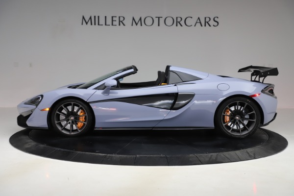 Used 2018 McLaren 570S Spider for sale $167,900 at Rolls-Royce Motor Cars Greenwich in Greenwich CT 06830 2