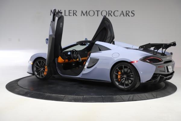 Used 2018 McLaren 570S Spider for sale $167,900 at Rolls-Royce Motor Cars Greenwich in Greenwich CT 06830 20