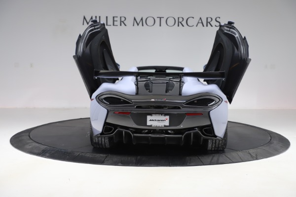 Used 2018 McLaren 570S Spider for sale $167,900 at Rolls-Royce Motor Cars Greenwich in Greenwich CT 06830 21