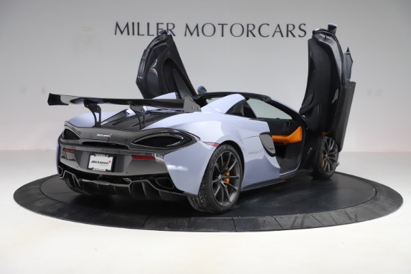 Used 2018 McLaren 570S Spider for sale $167,900 at Rolls-Royce Motor Cars Greenwich in Greenwich CT 06830 22