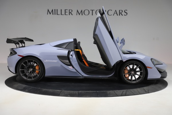 Used 2018 McLaren 570S Spider for sale Sold at Rolls-Royce Motor Cars Greenwich in Greenwich CT 06830 23
