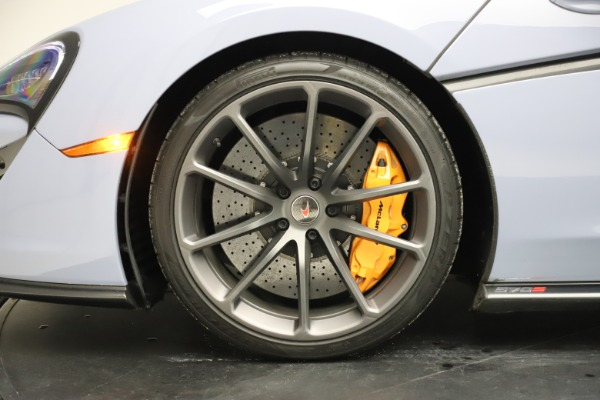 Used 2018 McLaren 570S Spider for sale $167,900 at Rolls-Royce Motor Cars Greenwich in Greenwich CT 06830 25