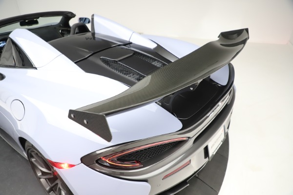 Used 2018 McLaren 570S Spider for sale $167,900 at Rolls-Royce Motor Cars Greenwich in Greenwich CT 06830 26
