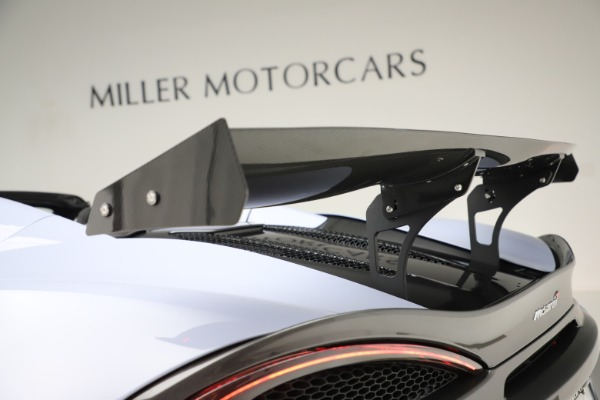 Used 2018 McLaren 570S Spider for sale $167,900 at Rolls-Royce Motor Cars Greenwich in Greenwich CT 06830 27