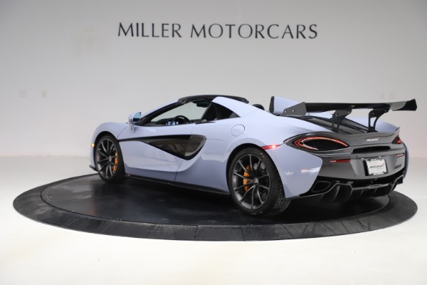 Used 2018 McLaren 570S Spider for sale $167,900 at Rolls-Royce Motor Cars Greenwich in Greenwich CT 06830 3