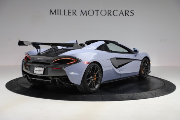 Used 2018 McLaren 570S Spider for sale $167,900 at Rolls-Royce Motor Cars Greenwich in Greenwich CT 06830 5