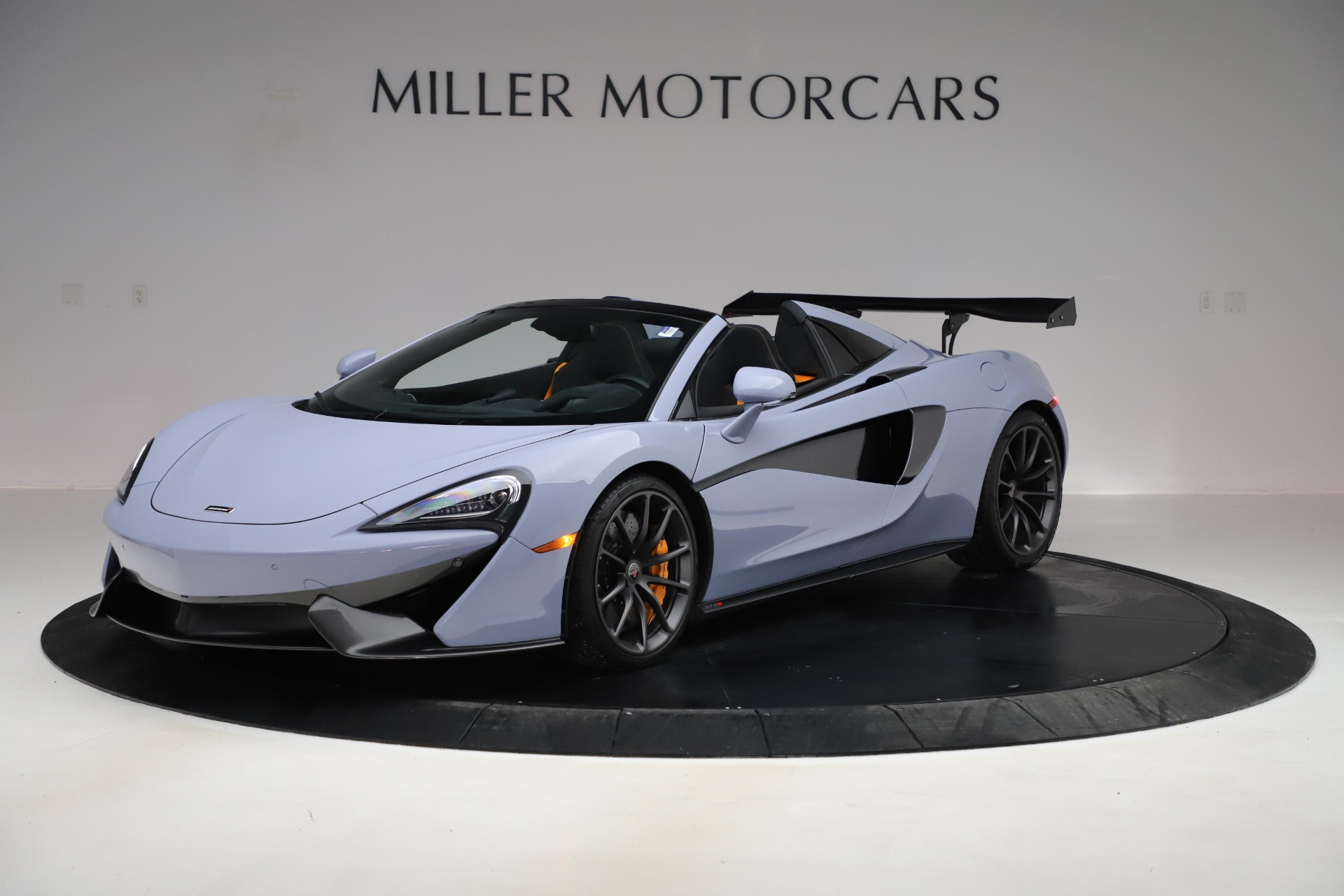 Used 2018 McLaren 570S Spider for sale $167,900 at Rolls-Royce Motor Cars Greenwich in Greenwich CT 06830 1