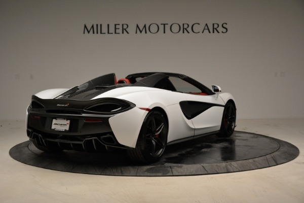 New 2018 McLaren 570S Spider for sale Sold at Rolls-Royce Motor Cars Greenwich in Greenwich CT 06830 7