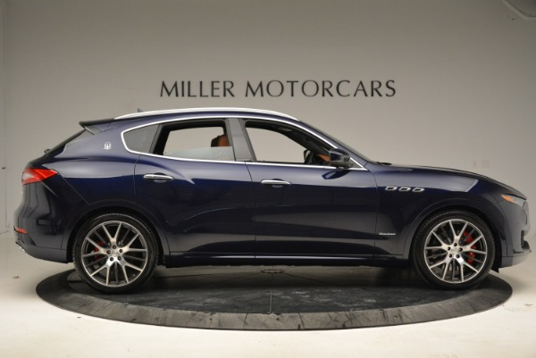 New 2018 Maserati Levante S Q4 GranLusso for sale Sold at Rolls-Royce Motor Cars Greenwich in Greenwich CT 06830 10