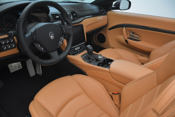 New 2018 Maserati GranTurismo MC Convertible for sale Sold at Rolls-Royce Motor Cars Greenwich in Greenwich CT 06830 24