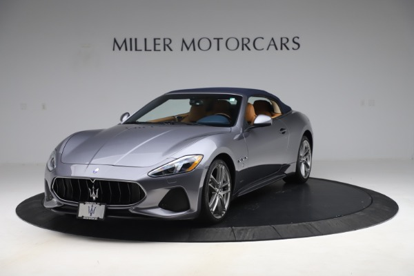 Used 2018 Maserati GranTurismo Sport Convertible for sale Sold at Rolls-Royce Motor Cars Greenwich in Greenwich CT 06830 14