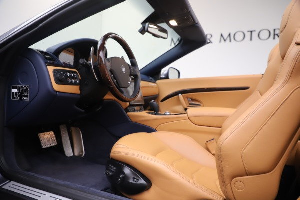 Used 2018 Maserati GranTurismo Sport Convertible for sale Sold at Rolls-Royce Motor Cars Greenwich in Greenwich CT 06830 20