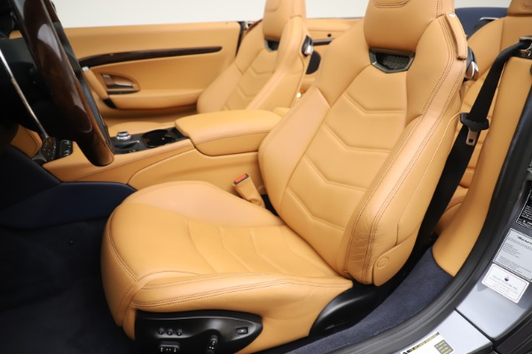Used 2018 Maserati GranTurismo Sport Convertible for sale Sold at Rolls-Royce Motor Cars Greenwich in Greenwich CT 06830 21