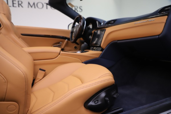 Used 2018 Maserati GranTurismo Sport Convertible for sale Sold at Rolls-Royce Motor Cars Greenwich in Greenwich CT 06830 27