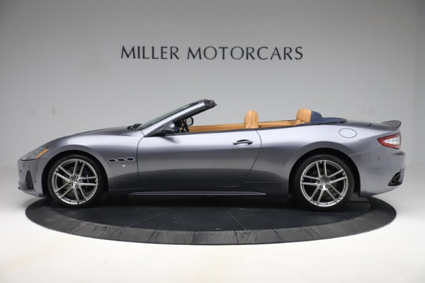Used 2018 Maserati GranTurismo Sport Convertible for sale Sold at Rolls-Royce Motor Cars Greenwich in Greenwich CT 06830 3