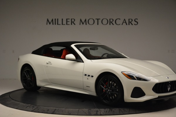 New 2018 Maserati GranTurismo Sport Convertible for sale Sold at Rolls-Royce Motor Cars Greenwich in Greenwich CT 06830 11