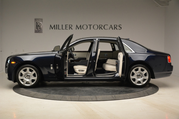 Used 2015 Rolls-Royce Ghost for sale Sold at Rolls-Royce Motor Cars Greenwich in Greenwich CT 06830 16
