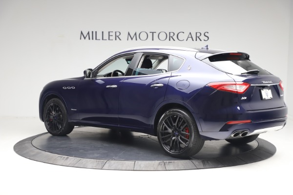 New 2018 Maserati Levante S Q4 GranLusso for sale Sold at Rolls-Royce Motor Cars Greenwich in Greenwich CT 06830 4