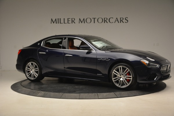 New 2018 Maserati Ghibli S Q4 GranSport for sale Sold at Rolls-Royce Motor Cars Greenwich in Greenwich CT 06830 10
