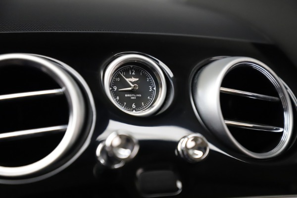 Used 2016 Bentley Continental GT W12 for sale $124,900 at Rolls-Royce Motor Cars Greenwich in Greenwich CT 06830 21