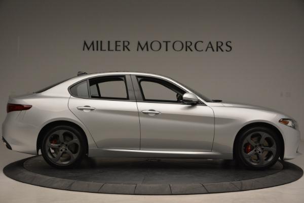 New 2018 Alfa Romeo Giulia Ti Sport Q4 for sale Sold at Rolls-Royce Motor Cars Greenwich in Greenwich CT 06830 9