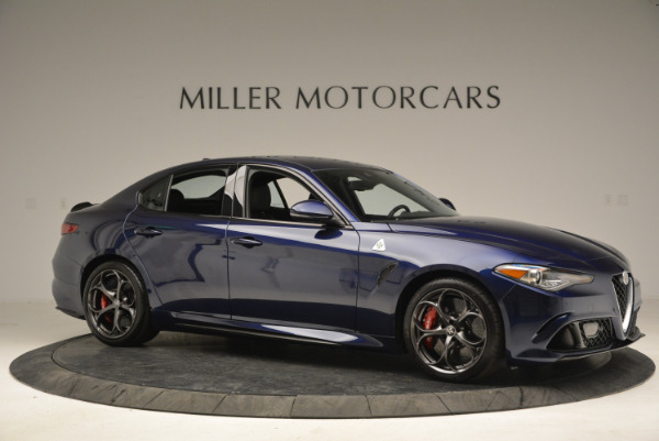 New 2018 Alfa Romeo Giulia Quadrifoglio for sale Sold at Rolls-Royce Motor Cars Greenwich in Greenwich CT 06830 10