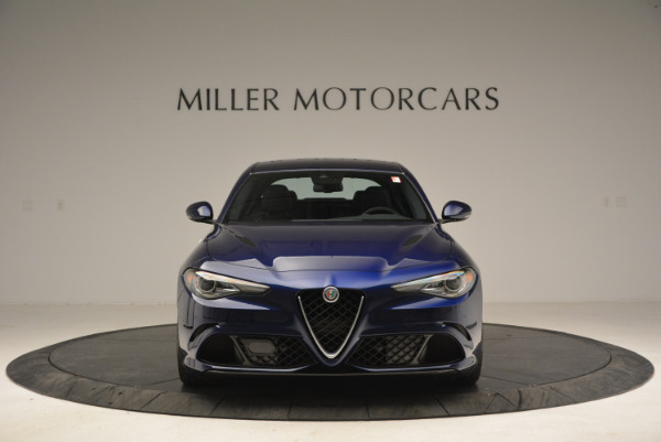 New 2018 Alfa Romeo Giulia Quadrifoglio for sale Sold at Rolls-Royce Motor Cars Greenwich in Greenwich CT 06830 12